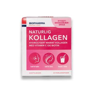 Prírodný kolagén s príchuťou maliny