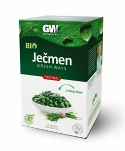 Mladý jačmeň GreenWay v tabletách