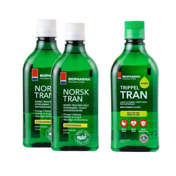 norsk tran + tripple tran