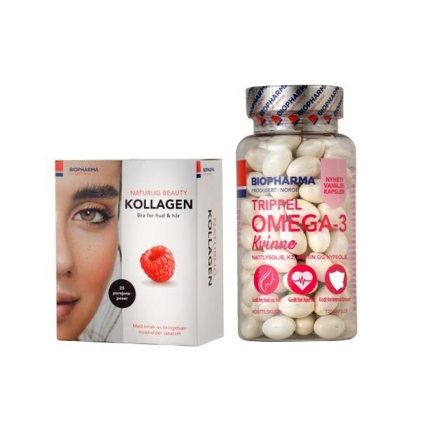 kollagen a omega3